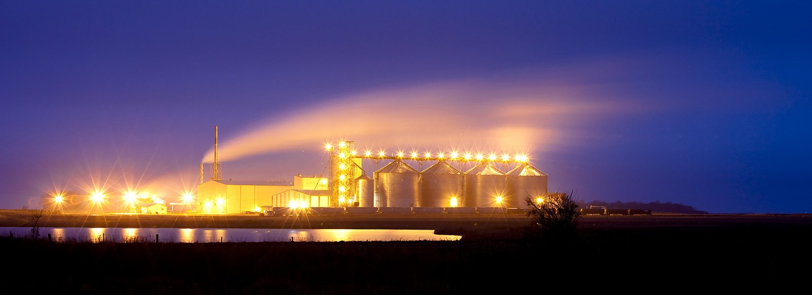 plant producing ethanol from corn